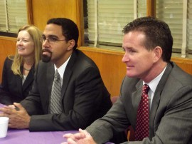 NYSED Commissioner John King and Senator Flanagan